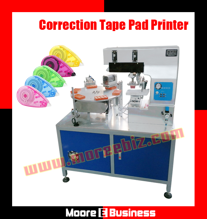 Automatic Correction Tape Corrector Pad Printing Machine